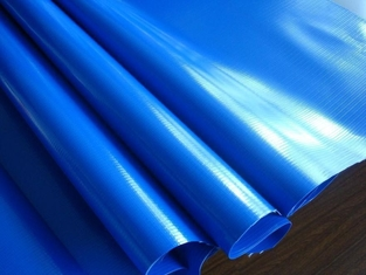 420GSM TPU Tarpaulin Laminated Fabric , Inflatable Swimming ...