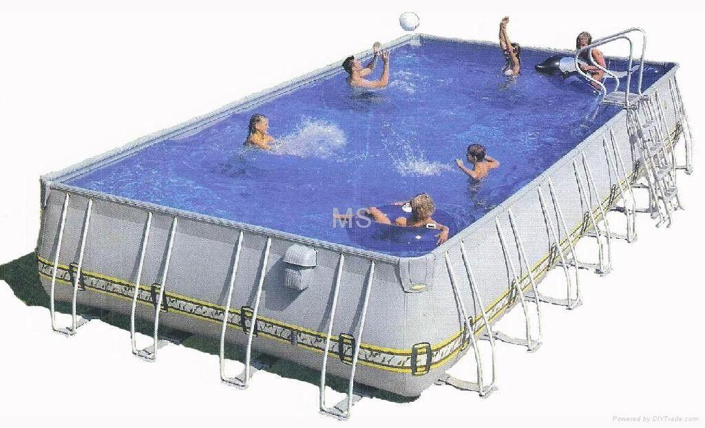 Las piscinas los juegos inflables comerciales gigantes de for Piscinas particulares